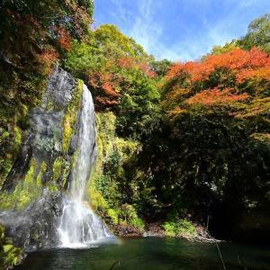 20年ぶりの小国の遊水狭にて(かっぱ滝)