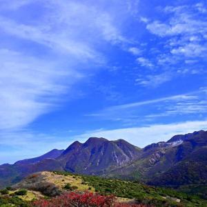 再び、くじゅう牧ノ戸から黒岩山、扇ケ鼻へp6(黒岩山の山頂へ移動)