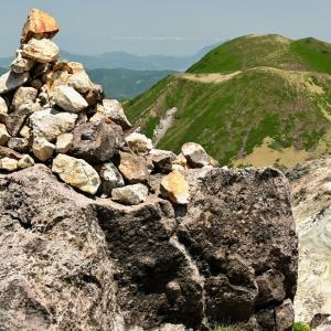くじゅう星生山から星生崎への稜線歩き