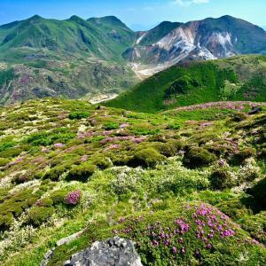 くじゅう、三俣山Ⅳ峰から