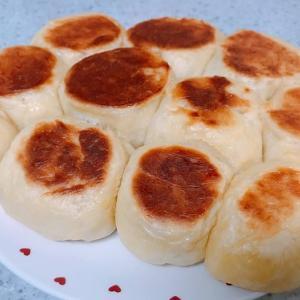 フライパンでちぎりパン