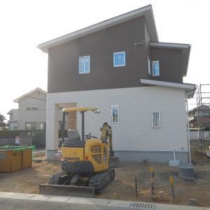 10/21(水) 晴れ 外構工事
