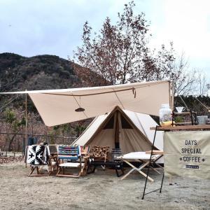 *キャンプ*12/9(土)~10(日) 青川峡キャンピングパーク(三重県)