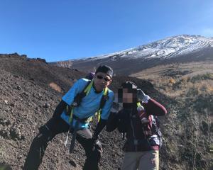 2019-11-08 トレッキング _富士山