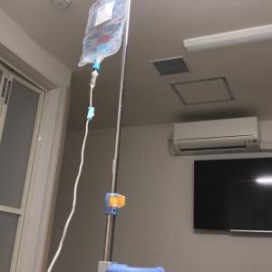 実は新型コロナで入院中なのです。