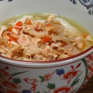 鶏飯と、とりめしと、鶏めしは、どうやら別のお料理のようです➖無印のごはんにかける奄美大島風鶏飯。