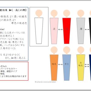 【錯視効果でスタイルアップ】細く・高く魅せる 編 -1