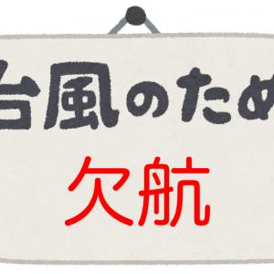 【ANA国際線】台風で飛行機が欠航!払い戻しや変更はどうなる?