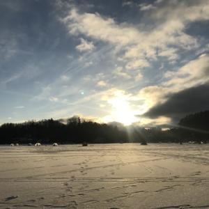 2018-2019 ワカサギ釣り in 松原湖 PartⅡ 氷上②