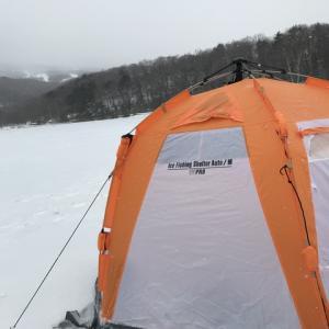 2018-2019 ワカサギ釣り in バラギ湖 氷上⑤