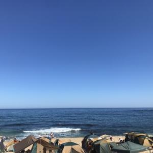 2019 夏休み 笹川流れ 海水浴キャンプ