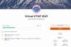 Virtual UTMF 2021の2日目 2021/4/20