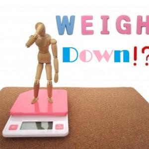 体重減少が。。。もう止まって。
