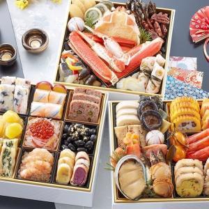 ズワイ焼蟹が最高でした。ボリュームもあり満足した。 「奥城崎シーサイドホテル」監修おせち 渚沙
