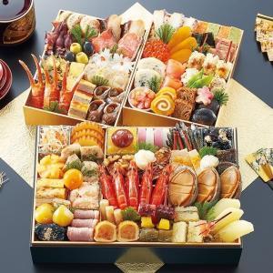 心行くまで京料 理に舌鼓を打てる名店  京都御所南京料理「やまの」監修三箱二段重 珠天箱