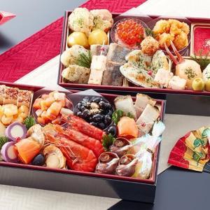 料理の豪華さ、彩り、ボリューム、当然美味しさ 北海道函館「花びし」監修和洋二段重 絢珠