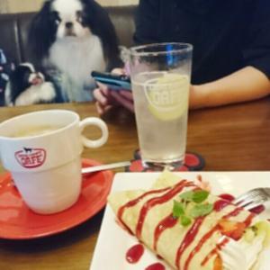 えびつくの好きなカフェ  ドッグデプトカフェ隅田川テラス