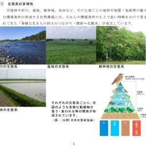 小山市の生物多様性地域戦略「生物多様性おやま行動計画」を検証するよ! その3 ここが変だよ「おやま行動計画」 概要編