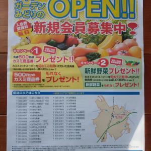 ライフガーデンみどりの店が春からネットスーパーを始めるって。