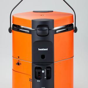 屋外で使用できるカセットガス式炊飯ジャー