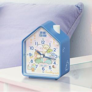 おとまり会がテーマのすみっコぐらし目覚まし時計
