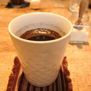 暴飲暴食が止まらない。最近飲んだ玄米コーヒーと突然のステーキ(妻)