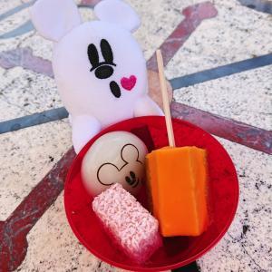 ハロウィーン食べ歩きフードのアソーテッド・スウィーツ