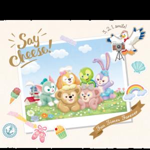 ダッフィー&フレンズのSay Cheese!グッズ