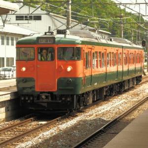 しなの鉄道(5/20):115系S25編成湘南色で出場