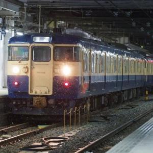 しなの鉄道(12/31):横須賀色同士の連結
