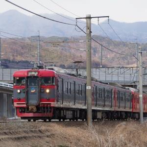 しなの鉄道(2/5):再び千曲川堤防にて