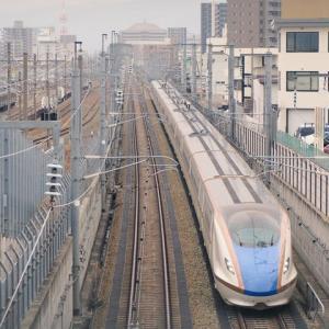 北陸新幹線(2/25):F27編成試運転