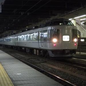 回送列車(3/14):夜の長野駅にて