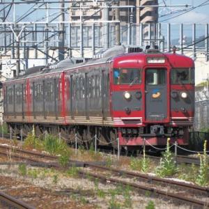 北しなの線(6/13):北長野駅にて