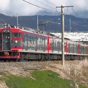 しなの鉄道(4/1):千曲川堤防にて