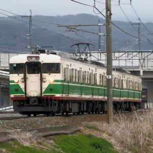 しなの鉄道(4/8):千曲川堤防にて