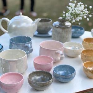 Otoñando con cerámicas.