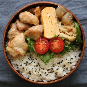 2019.9.9 今日のお弁当 ~から揚げハニーマスタード