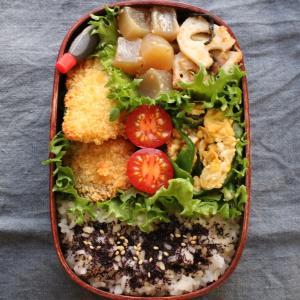 2019.9.10 今日のお弁当 ~鯖のフライ
