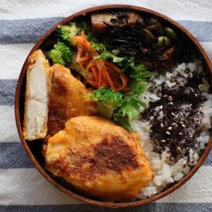 2019.9.27 今日のお弁当 ~鶏肉の明太子ピカタ