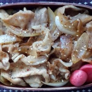 6月のお弁当(豚丼)
