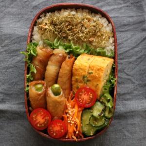 2019.9.3 今日のお弁当 ~オクラと南瓜の肉巻き