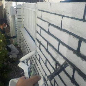 厚木市で行った外壁塗装⑥ぬりいち