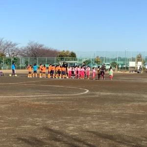 娘のサッカー観戦に行って来ました(^◇^)