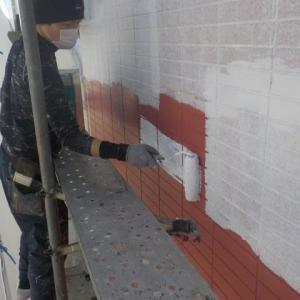 厚木市で外壁塗装行いました③ぬりいち(^^)/