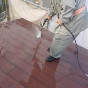 30年11月寒川町で外壁屋根塗装工事行いました(^^)/ ぬりいち