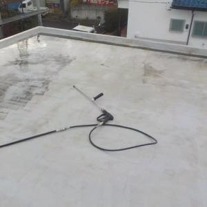 30年11月伊勢原市で防水塗装工事行いました(^^)/ ぬりいち