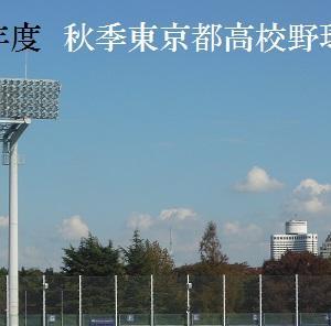 秋季東京大会 強豪校の初戦に異変あり