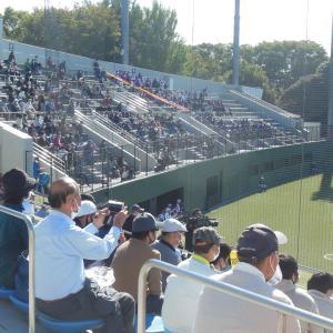 秋季東京大会 上位シードの関東一、快勝で3回戦進出