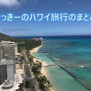 特典航空券で行くハワイへの道③(2019/07の旅行のまとめ)
